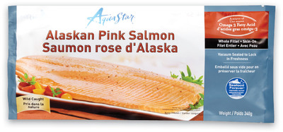 AQUA STAR WILD PACIFIC SALMON FILLETS