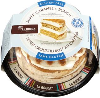 LA ROCCA GLUTEN FREE CARAMEL CRUNCH CAKE