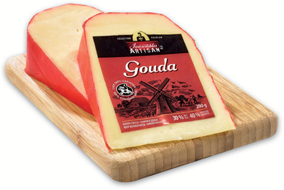 IRRESISTIBLES ARTISAN GOUDA CHEESE OR GOAT'S CHEESE