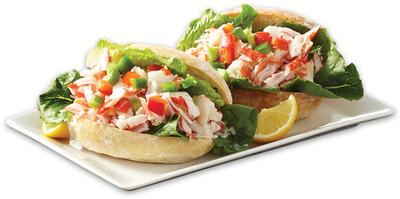 FRESH 2 GO CREAMY SEAFOOD SANDWICH