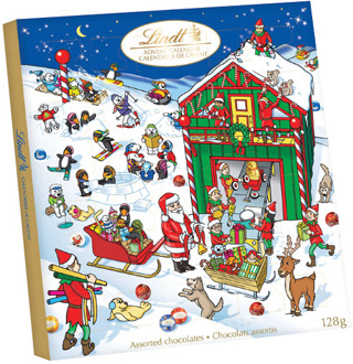 LINDT ADVENT CALENDAR OR TOBLERONE CHOCOLATE BAR