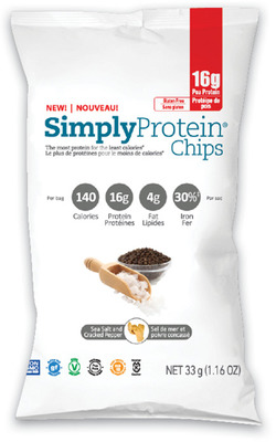 SIMPLY PROTEIN CHIPS OR SNACKS