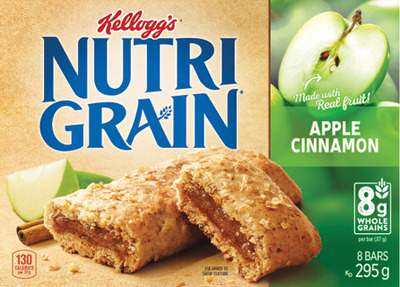 NATURE VALLEY, NUTRIGRAIN SPECIAL K BARS, BETTY CROCKERS FRUITS SNACKS