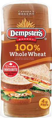 DEMPSTER'S WHITE OR 100% WHOLE WHEAT BREAD, D'ITALIANO BREAD OR COUNTRY HARVEST GRAIN BREAD