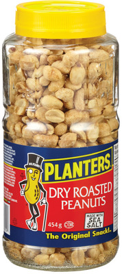 PLANTERS PEANUTS, ALMONDS OR MIXED NUTS OR MOTT'S CLAMATO JUICE