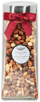 DAVID ROBERTS CHOCOLATE AND PRALINE GIFT JAR