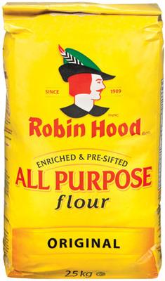 ROBIN HOOD OR FIVE ROSES FLOUR