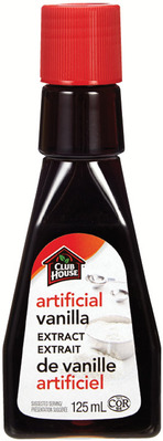 CLUB HOUSE ARTIFICIAL VANILLA EXTRACT