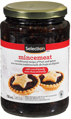 SELECTION MINCEMEAT FILLING