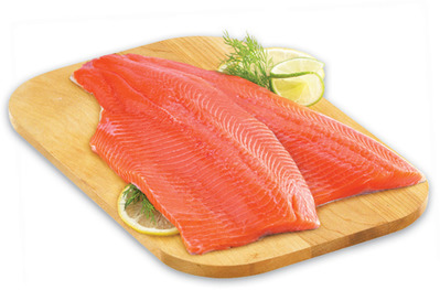 Fresh Tilapia or Ontario Rainbow Trout Fillets, Family Pack or Pacific White Raw Shrimp 31/40 SIZE
