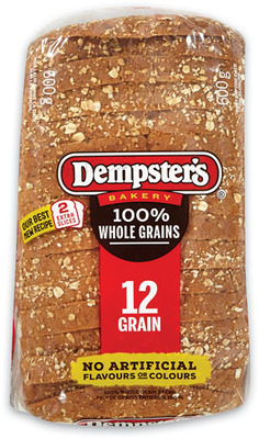 "Dempster's Grain Breads, Bagels, Villaggio Bread or Buns or 7"" Tortillas"