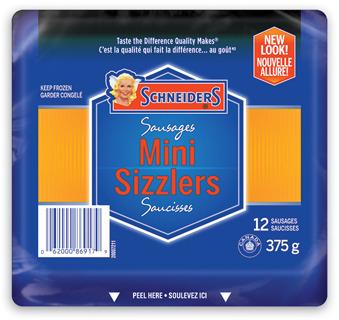 SCHNEIDERS OKTOBERFEST SAUSAGES OR MINI-SIZZLERS