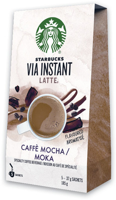 STARBUCKS VIA INSTANT COFFEE