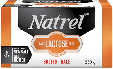 NATREL LACTOSE FREE BUTTER