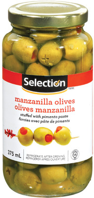 SELECTION OLIVES OR ONIONS