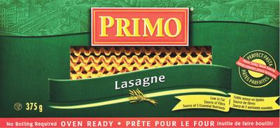 PRIMO LASAGNA OR SPECIALTY NOODLES