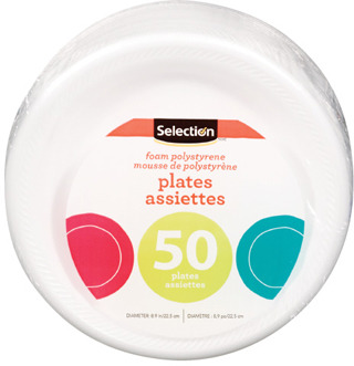 SELECTION PLATES OR CUTLERY