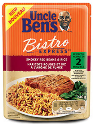 UNCLE BEN'S INSTANT RICE OR BISTRO EXPRESS
