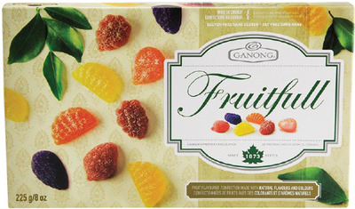 GANONG FRUITFULL ASSORTED GUMMY CANDIES