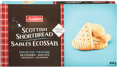 IRRESISTIBLES SHORTBREADS