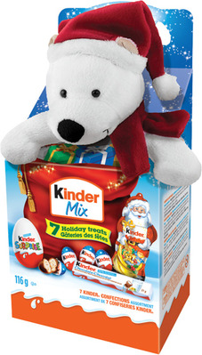 FERRERO KINDER MIX CHRISTMAS CHOCOLATE