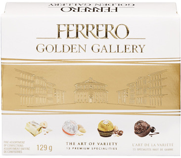 FERRERO ROCHER GOLDEN GALLERY CHOCOLATES