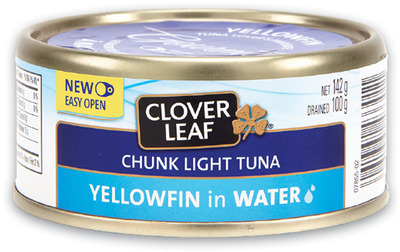 OCEAN'S WHITE TUNA OR CLOVER LEAF YELLOWFIN TUNA