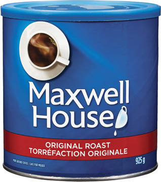 MAXWELL HOUSE GROUND COFFEE 631 - 925 g TASSIMO MAXWELL HOUSE T DISC 14 - 16 un. or K-CUP COFFEE CAPSULES 12 un