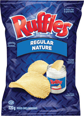 RUFFLES CHIPS, DORITOS OR CHEETOS