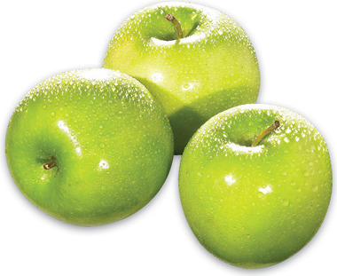GRANNY SMITH APPLES PRODUCT OF FRANCE EXTRA FANCY GRADE JONAGOLD APPLES PRODUCT OF U.S.A.EXTRA FANCY GRADE 4.39/kg