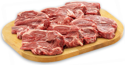 NEW ZEALAND FRESH LAMB SHOULDER CHOPS VALUE PACK