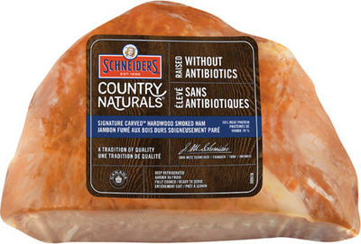 SCHNEIDERS COUNTRY NATURALS TENDER TIP SMOKED HAM
