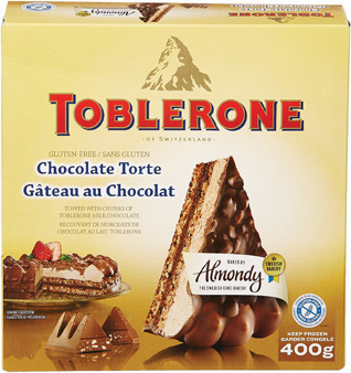 TOBLERONE CHOCOLATE CAKE