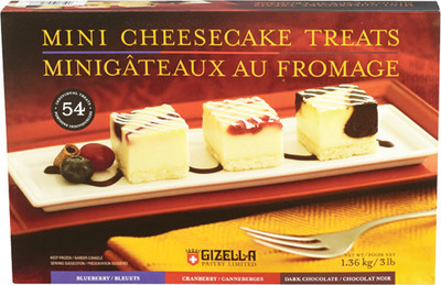 GIZELLA MINI CHEESECAKE TREATS