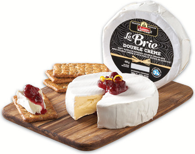 IRRESISTIBLES ARTISAN DOUBLE CRÈME BRIE CHEESE