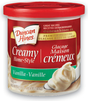 DUNCAN HINES DELUXE CAKE MIX, BROWNIE MIX OR FROSTING