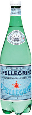 PERRIER OR SAN PELLEGRINO SPARKLING WATER