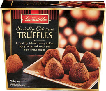 IRRESISTIBLES DUSTED COCOA TRUFFLES