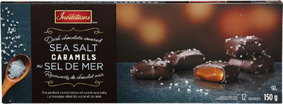 INVITATIONS SEA SALT CARAMEL CHOCOLATES