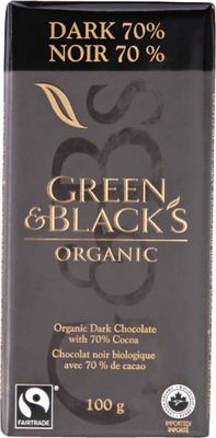 GREEN & BLACK'S ORGANIC CHOCOLATE BARS