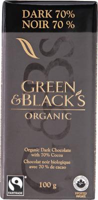 GREEN & BLACK'S ORGANIC CHOCOLATE BARS