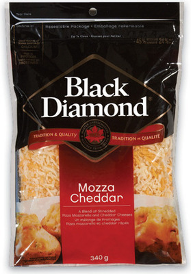 BLACK DIAMOND SHREDDED CHEESE