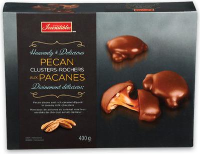 IRRESISTIBLES PECAN CLUSTER CHOCOLATES