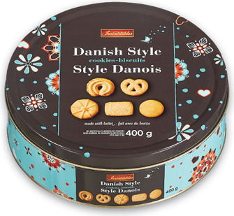 IRRESISTIBLES HIDDEN TREASURE OR DANISH COOKIES