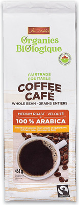 IRRESISTIBLES ORGANICS WHOLE BEAN COFFEE