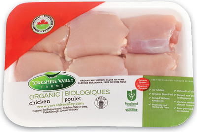 Yorkshire Valley Farms Organic Fresh Chicken Breasts Or Thighs