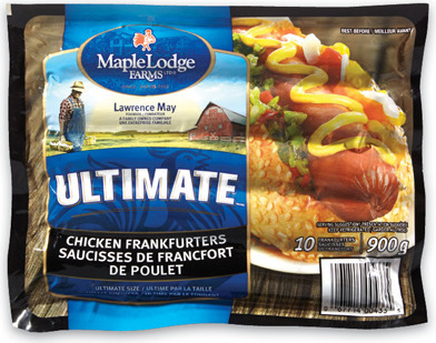 MAPLE LODGE CHICKEN BACON OR ULTIMATE CHICKEN WIENERS