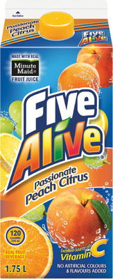 FIVE ALIVE, MINUTE MAID REFRIGERATED DRINKS