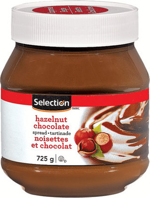 SELECTION HAZELNUT SPREAD
