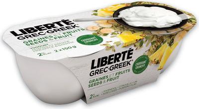 Liberté Greek or Méditerranée Yogurt